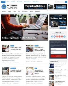 internet marketing wordpress theme