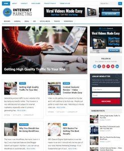 internet marketing wp theme