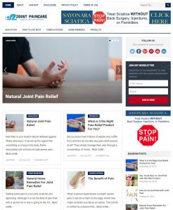 joint pain wp theme