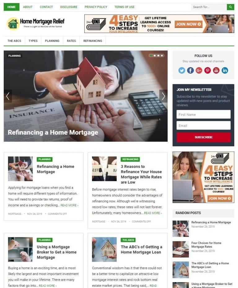 mortgage wp theme